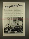 1938 Buick Car Ad - Distinguished in Service, NICE!!