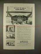 1945 WWII Fairchild Packet Ad - Easy Load Flying Boxcar