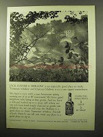 1964 Jack Daniel's Whiskey Ad - Hollow