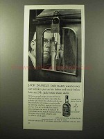 1964 Jack Daniel's Whiskey Ad - Distiller