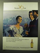 1964 Seagram's V.O. Canadian Whisky Ad - Great Taste