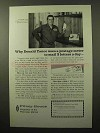 1964 Pitney-Bowes DM Postage Meter Ad - Donald Yance