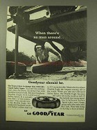 1964 Goodyear Lifeguard Safety Spare Tire Ad