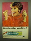 1964 Saran Wrap Ad - Has Been Tamed