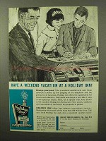 1964 Holiday Inn Ad - Have a Weekend Vacation