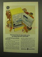 1964 General Electric Spacemaker Refrigerator Ad