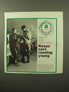 1964 Quaker State Motor Oil Ad - Cars Running Young