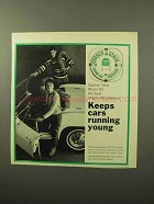 1964 Quaker State Motor Oil Ad - Running Young