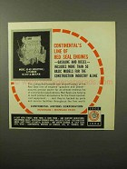 1964 Continental Model JD-403 Red Seal Engine Ad