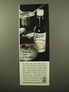 1964 French's Worcestershire Sauce Ad - How to Sass