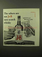1964 J&B Scotch Ad - The Others Are Not Rare