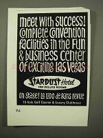 1964 Stardust Hotel Ad - Meet with Success