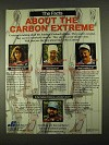 1994 Jennings Carbon Extreme Bow Ad - The Facts