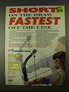 1994 Jennings Micro Carbon Extreme Bow Ad - Fastest