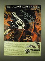 1994 Taurus Model 94 and Model 941 Revolvers Ad