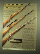 1994 Savage Ad - Model 111G, 114CU and 116SE Rifles