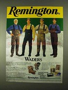 1994 Remington Waders Ad