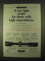 1994 Redfield Illuminator Series Scopes Ad - Low Light