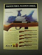 1994 Marlin Rifle Ad - 922, 883SS, 883, 882, 882L, 25MN