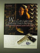 1994 Colt .45 ACP Gold Cup National Match Pistol Ad