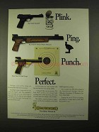 1994 Browning Pistol Ad - Unlimited Match Silhouette +