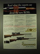 1994 Browning Rifle Ad - A-Bolt II, BAR Mark II BOSS