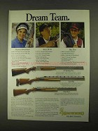 1994 Browning Shotgun Ad - 325 Sporting Clays, Citori - Dream Team