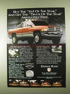1994 Dodge Ram 1500 Pickup Truck Ad - Absolutely Free