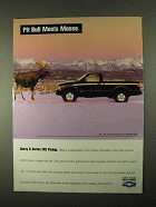 1994 Chevrolet S-10 ZR2 Pickup Truck Ad - Moose