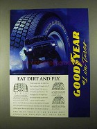 1994 Goodyear Wrangler GS-A Tires Ad - Eat Dirt and Fly