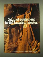 1994 Carhartt Clothing Ad - Original Equipment