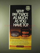 1994 Redwood Tobacco Ad - Why Pay Twice as Much