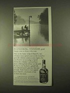 1994 Jack Daniel's Whiskey Ad - To Those Who Wait