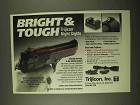 1994 Trijicon Night Sights Ad - Bright & Tough