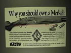 1994 GSi Merkel Model 201E Shotgun Ad - You Should Own