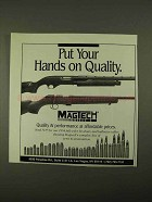 1994 Magtech Arms & Ammunition Ad - Hands on Quality