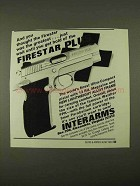 1994 Interarms Firestar Plus Pistol Ad - The Greatest