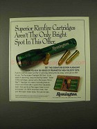 1994 Remington Rimfire cartridges Ad - Bright Spot