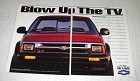 1994 2-pg Chevrolet S-Series ZR2 Truck Ad - Blow Up The TV