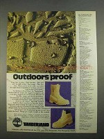 1974 Timberland Boots Ad - Outdoors Proof