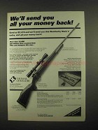 1997 The Bank of Boulder Ad - Weatherby Mark V Rifle