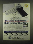 1997 Smith & Wesson Model 4513TSW Pistol Ad