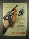1997 Ruger Mark II Pistol Ad - Great Design