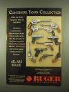 1997 Ruger Handguns Ad - Continue Your Collection