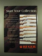 1997 Ruger Firearms Ad - Start Your Collection
