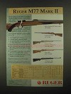1997 Ruger M77 Mark II Rifle Ad
