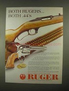 1997 Ruger Model 96 Rifle and Vaquero Revolver Ad