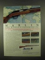 1997 Marlin Model 60 Rifle Ad - World's Favorite 22