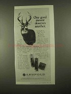 1997 Leupold Mounts Ad - One Mount Deserves Another