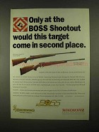 1997 Winchester Model 70 & Browning A-Bolt II Rifle Ad